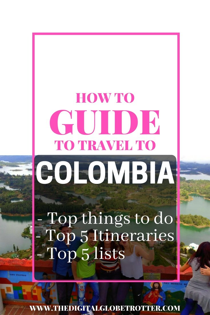 The best guide to Colombia: Guide to travel to Colombia: What to do, top 5 Itineraries, top 5 lists. You Must Do On Your Next Trip - #visitcolombia #colombiatrips #travelcolombia #colombiaflights #colombiahotels #colombiahostels #colombiaairbnb #colombiatips #colombiabeaches #colombiamaps #colombiablog #colombiaguide #colombiatours #colombiabooking #colombiainfo #colombiatripadvisor #colombiavisa #blog