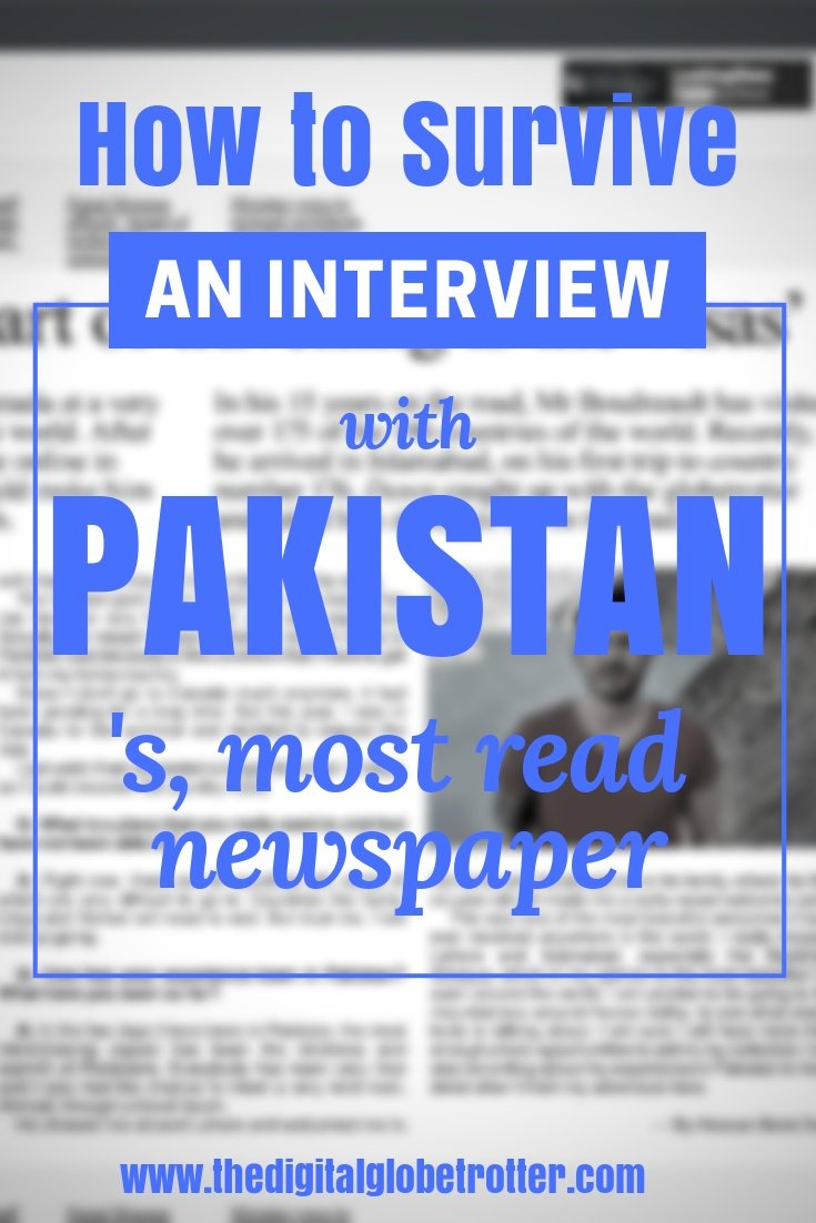 "Interview in Islamabad Pakistan - Interview with ""Dawn News""; Pakistan's Most Read English Newspaper - #visitpakistan #pakistantrips #travelpakistan #pakistanflights #pakistanhotels #pakistanhostels #pakistanairbnb #pakistantips #pakistanbeaches #pakistanmaps #pakistanblog #pakistanguide #pakistantours #pakistanbooking #pakistaninfo #pakistantripadvisor #pakistanvisa #lahore #islamabad #kharachi #hunzapakistan #gilgitpakistan #pakistanhiking #pakistan #pakistanblog"