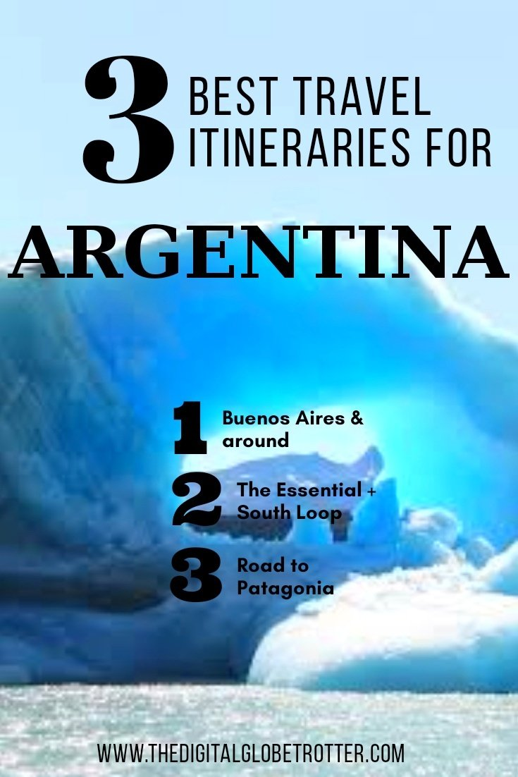 Guide to Argentina - Top 3 Best Argentina Itineraries You Must Do On Your Next Trip - #visitargentina #argentinatrips #argentinatravel #argentinaflights #argentinahotels #argentinahostels #argentinaairbnb #argentinatips #argentinabeaches #argentinamaps #argentinablog #argentinaguide #argentinatours #argentinabooking #argentinainfo #argentinatripadvisor #argentinavisa #buenosaires #argentina #mendoza #patagonia #rosario #cordobaargentina