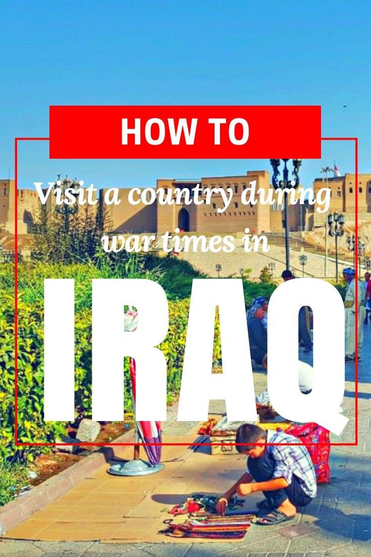 How to visit Iraq and Kurdistan - A Guide to IRAQ: Visiting a Country During War Times - #visitiraq #iraqtrips #traveliraq #iraqflights #iraqhotels #iraqhostels #iraqairbnb #iraqtips #iraqbeaches #iraqmaps #iraqblog #iraqguide #iraqtours #iraqbooking #iraqinfo #iraqtripadvisor #iraqvisa #iraq #erbiliraq #irbiliraq #kurdistan #erbilkurdistan #travelkurdistan #kurdistantips #iraqblog