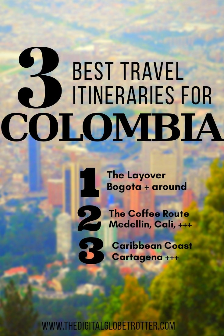 Colombia how to guide - 3 Best Colombia Itineraries You Must Do On Your Next Trip - #visitcolombia #colombiatrips #travelcolombia #colombiaflights #colombiahotels #colombiahostels #colombiaairbnb #colombiatips #colombiabeaches #colombiamaps #colombiablog #colombiaguide #colombiatours #colombiabooking #colombiainfo #colombiatripadvisor #colombiavisa #blog