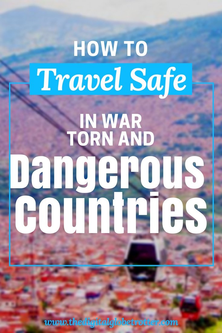 Travel safe - Why you should never let fear of terrorism create limits in your travel plans - #travelsafety #dangerousdestinations #mostdangerousdestinations #travelriskmap2018 #ustravelwarningsmap #traveladvisory #worldtravelsafetymap2017 #unsafecountriestotravelto2017 #highriskcountriesfortravel2017 #traveladvisoryusa #worldwidetravelalert #traveldanger #travelterrorism #travelinsurance