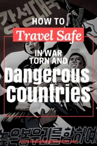 unsafe places - Why you should never let fear of terrorism create limits in your travel plans - #travelsafety #dangerousdestinations #mostdangerousdestinations #travelriskmap2018 #ustravelwarningsmap #traveladvisory #worldtravelsafetymap2017 #unsafecountriestotravelto2017 #highriskcountriesfortravel2017 #traveladvisoryusa #worldwidetravelalert #traveldanger #travelterrorism #travelinsurance