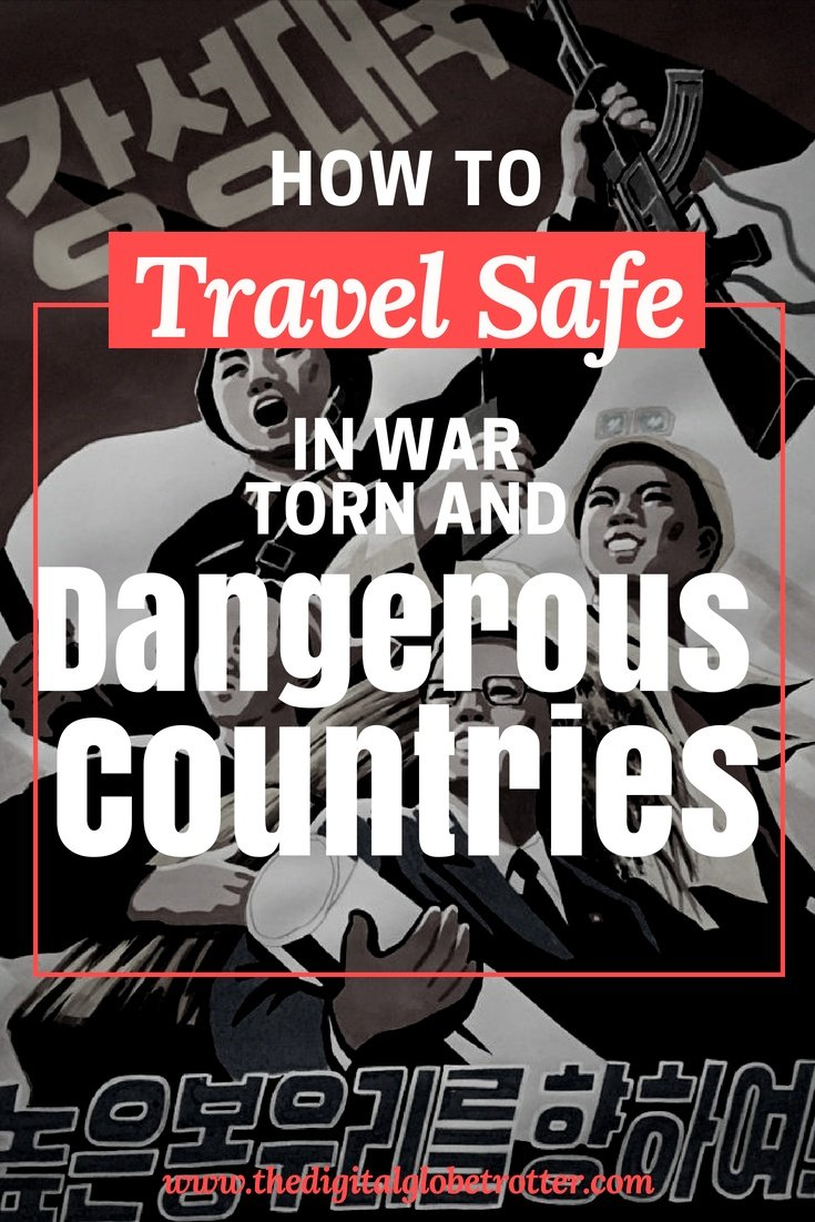 How to travel in unsafe places - Why you should never let fear of terrorism create limits in your travel plans - #travelsafety #dangerousdestinations #mostdangerousdestinations #travelriskmap2018 #ustravelwarningsmap #traveladvisory #worldtravelsafetymap2017 #unsafecountriestotravelto2017 #highriskcountriesfortravel2017 #traveladvisoryusa #worldwidetravelalert #traveldanger #travelterrorism #travelinsurance