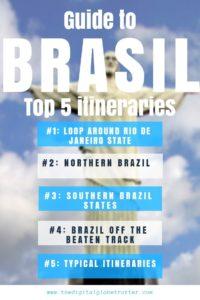 SUPER Tips for Brazil travel - 5 Best Travel Itineraries In Brazil for your Next Trip! - #visitbrazil #braziltrips #travelbrazil #brazilflights #brazilhotels #brazilhostels #brazilairbnb #braziltips #brazilbeaches #brazilmaps #brazilblog #brazilguide #braziltours #brazilbooking #brazilinfo #braziltripadvisor #brazilvisa #brazilblog