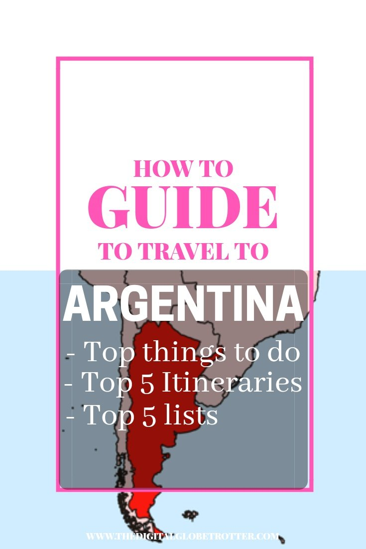 AMAZING guide tips to Argentina - Guide to travel to Argentina: What to do and Where to Go - #visitargentina #argentinatrips #argentinatravel #argentinaflights #argentinahotels #argentinahostels #argentinaairbnb #argentinatips #argentinabeaches #argentinamaps #argentinablog #argentinaguide #argentinatours #argentinabooking #argentinainfo #argentinatripadvisor #argentinavisa #buenosaires #argentina #mendoza #patagonia #rosario #cordobaargentina #buenosairesflights #buenosairestips #argentinablog