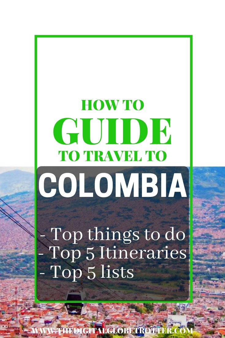 Great guide to travel to Colombia -  Guide to travel to Colombia: What to do, top 5 Itineraries, top 5 lists. You Must Do On Your Next Trip - #visitcolombia #colombiatrips #travelcolombia #colombiaflights #colombiahotels #colombiahostels #colombiaairbnb #colombiatips #colombiabeaches #colombiamaps #colombiablog #colombiaguide #colombiatours #colombiabooking #colombiainfo #colombiatripadvisor #colombiavisa #blog