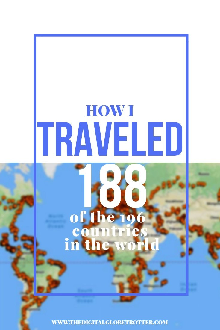Great inspirational story - Cities I've Been Map (188/196 Countries) – Update December 2017 #budgettravel #traveldestinations #travel #traveling #nomads #howtotravel #travelguide #digitalnomad #travelblog #blogger #travelmore #wunderlust #dreams #traveleurope #travelasia #travelusa #travels #dreamtravels #globetrotter #countrycounters #allthecountries #whereivebeen