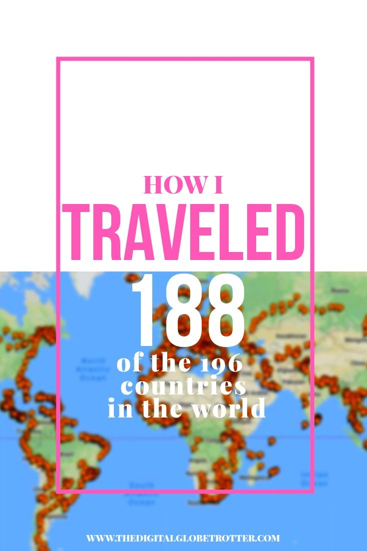 Amazing world traveler story - Cities I've Been Map (188/196 Countries) – Update December 2017 #budgettravel #traveldestinations #travel #traveling #nomads #howtotravel #travelguide #digitalnomad #travelblog #blogger #travelmore #wunderlust #dreams #traveleurope #travelasia #travelusa #travels #dreamtravels #globetrotter #countrycounters #allthecountries #whereivebeen