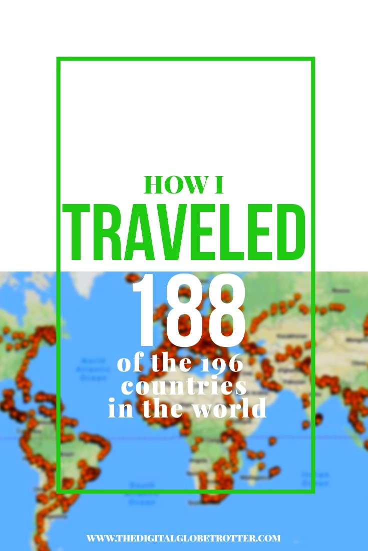 Great story - Cities I've Been Map (188/196 Countries) – Update December 2017 #budgettravel #traveldestinations #travel #traveling #nomads #howtotravel #travelguide #digitalnomad #travelblog #blogger #travelmore #wunderlust #dreams #traveleurope #travelasia #travelusa #travels #dreamtravels #globetrotter #countrycounters #allthecountries #whereivebeen