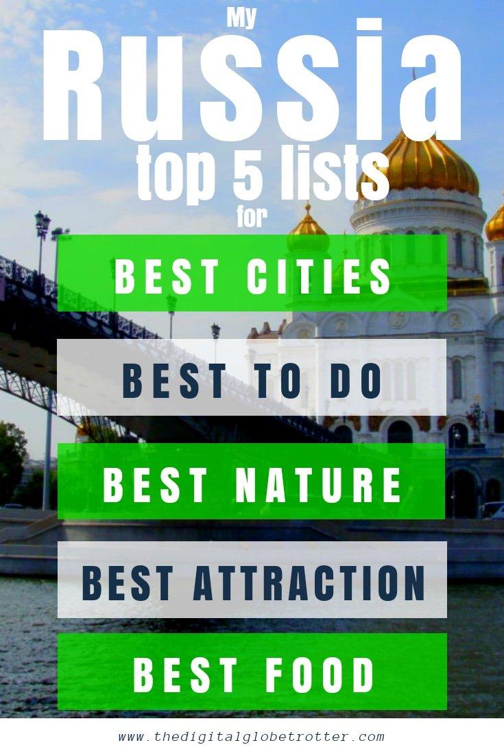 Russia tips - My Russia Top 5 Lists Best Cities, best Nature, Best food, Best festivals #visitrussia #russiatrips #travelrussia #russiaflights #russiahotels #russiahostels #russiaairbnb #russiatips #russiabeaches #russiamaps #russiablog #russiaguide #russiatours #russiabook #russiainfo #russiatripadvisor #visitmoscow russiatours #transsiberian #visitstpetersburg #stpetersburgtips #moscowtips