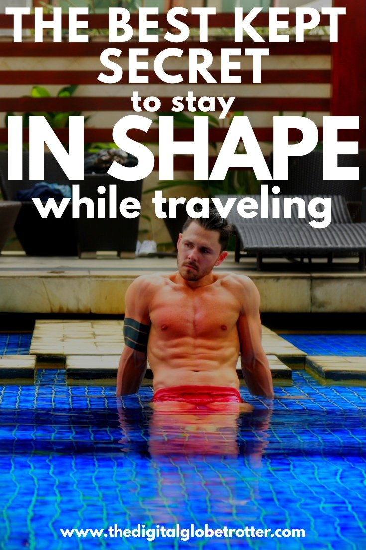 Super useful fitness Tips - My Secret to Stay in Shape while Travelling Long-term? Eat Enough Protein - #health #fitness #travelfitness #travelhealthy #stayinghealthywhiletravelingforwork #stayinghealthywhileflying #howtostayhealthywhiletravelingforbusiness #healthytravelsnacks #howtoeathealthywhiletraveling #healthytraveltips #travelhealthresourcestravelhealthwebsites #travelfitnessequipment #travelfitnesstips #travelworkoutnoequipment #workoutwhiletravelingbodybuilding #travelgym