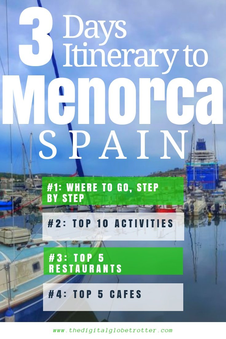 How to guide to Menorca - Menorca: The Baleares Islands Best Kept Secret - #menorcaspain #menorcaisland #menorcareview #wheretostayinmenorca #mallorca #travelmenorca #travelbaleares #menorcatips #balearestips #balearicislands #menorcahotels #menorcaflights #travelspain #travelspaintips #baleares #balearic #menorcaholiday #palmademallorca