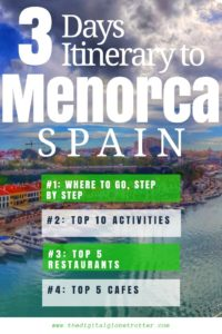 Tips Menorca - Menorca: The Baleares Islands Best Kept Secret - #menorcaspain #menorcaisland #menorcareview #wheretostayinmenorca #mallorca #travelmenorca #travelbaleares #menorcatips #balearestips #balearicislands #menorcahotels #menorcaflights #travelspain #travelspaintips #baleares #balearic #menorcaholiday #palmademallorca