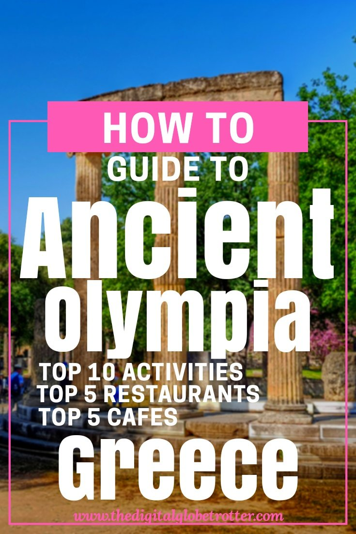 Great guide to visit ancient Olympia -Visiting Ancient Olympia from Katakolo in the Greek Peloponnese #greece #greecetravel #olympia #katakolo #peloponnese #travelgreece #greeceguide #greek #socrates