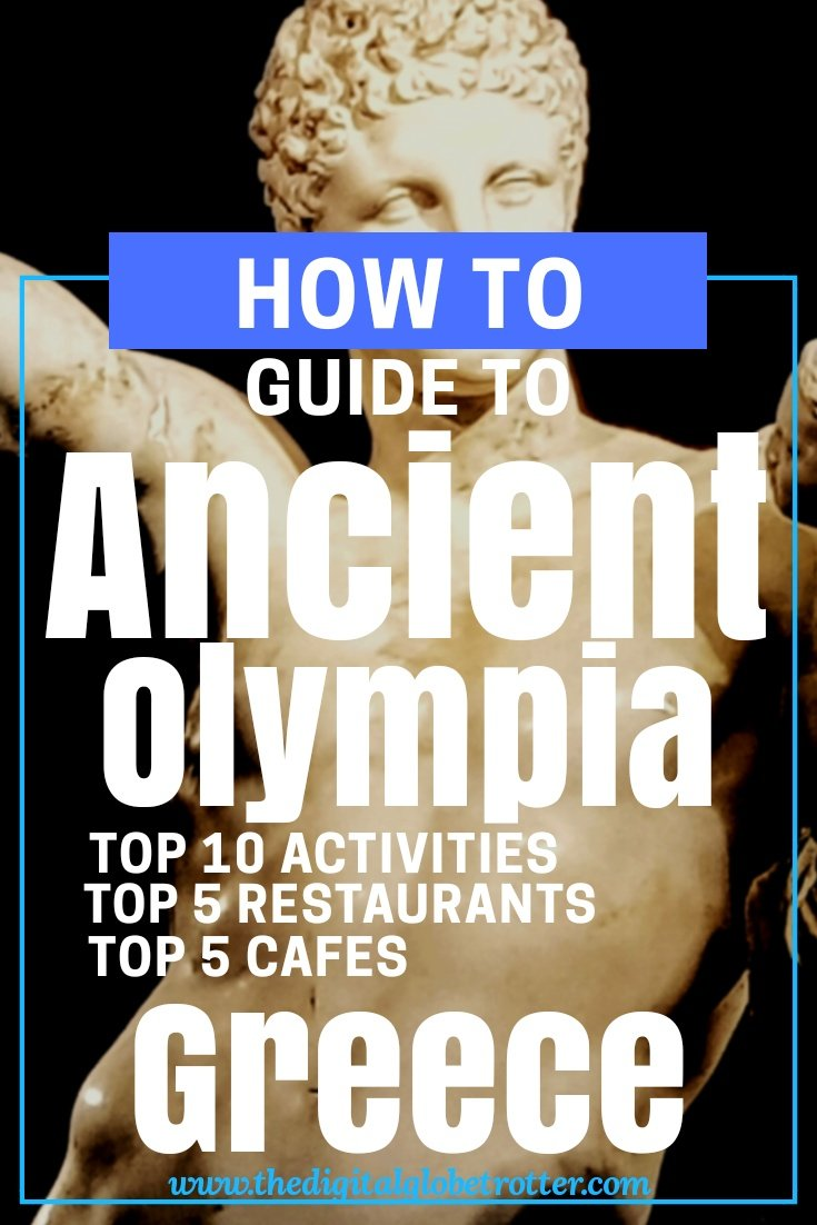 Amazing Olympia tips in Greece - Visiting Ancient Olympia from Katakolo in the Greek Peloponnese #greece #greecetravel #olympia #katakolo #peloponnese #travelgreece #greeceguide #greek #socrates