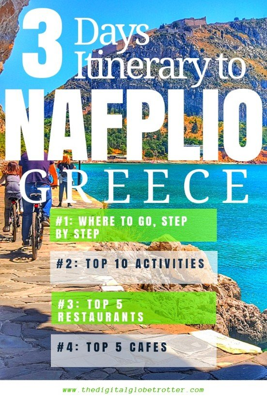 Travel to Nafplio guide - Top Things to do in Nafplio, the Ancient Capital of Greece - The Digital Globetrotter - #greece #travelgreece #greecetraveltips #greecetraveltips #gotogreece #greecemap #greeceathens #greecetourism #athenspointofinterest #athenstraveladvice #exploringathens #thingstodoinathens #traveleurope #travelworld #greecetips #athens #cheapgreece #travelblog #travelblogger #nafplio #travelnafplio #nafpliogreece #nafpliohotels