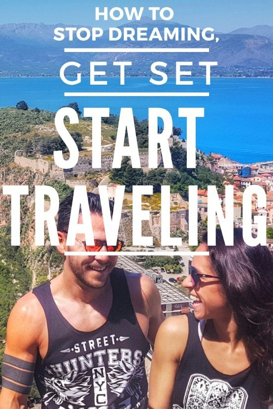 Great inspiration for Traveling - Inspire yourself with this guide on how to snap out and start your own journey and own adventures! How to Stop Dreaming, Get Set and Start Traveling - a Traveler an digital Nomad Guide #budgettravel #traveldestinations #travel #traveling #nomads #howtotravel #travelguide #digitalnomad #travelblog #travelmore #wunderlust #dreams #traveleurope #travelasia #travelusa #travels