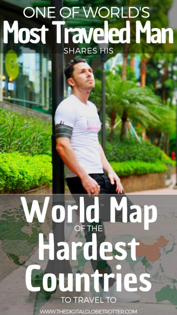 AMAZING Map, Sticky Pin! - World Map of the Hardest Countries to Travel - in the Eyes of a Man Who Visited Them All - #hardcountriestotravel #hardestcountrytogetvisa #easiestcountrytogetvisa #hardestcountrytravel #easiestcountrytotravel #safestcountries #mostdangerouscountries #dificulttraveldestinations #traveldestinations #travelworld #Travelaroundtheworld #Traveltips #backpackingtips #destinationtips