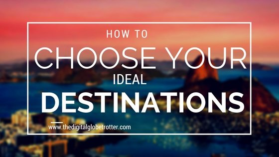 Super Pin! Great post - planning tips - How to Choose Your Ideal Travel Destinations #travel #traveling #budgettravel #traveldestinations #travelblogers #traveltips #travelplanning #backpacking #backpackers #globetrotter #cheapflights