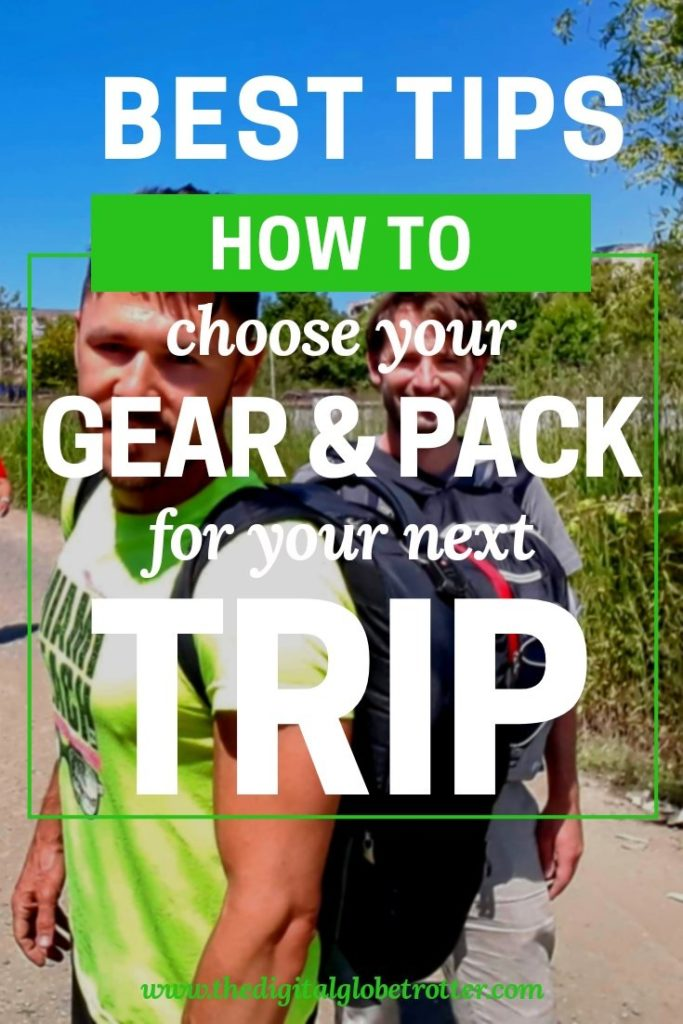 great travel packng tips - How to Pack Your Gear and What to Bring for your Trip - #travel #traveling #budgettravel #traveldestinations #travelblogger #travelblog #traveltips #travelplanning #backpacking #backpackers #globetrotter #cheapflights #worldtravel #gapyear #howtotravel #travelguide