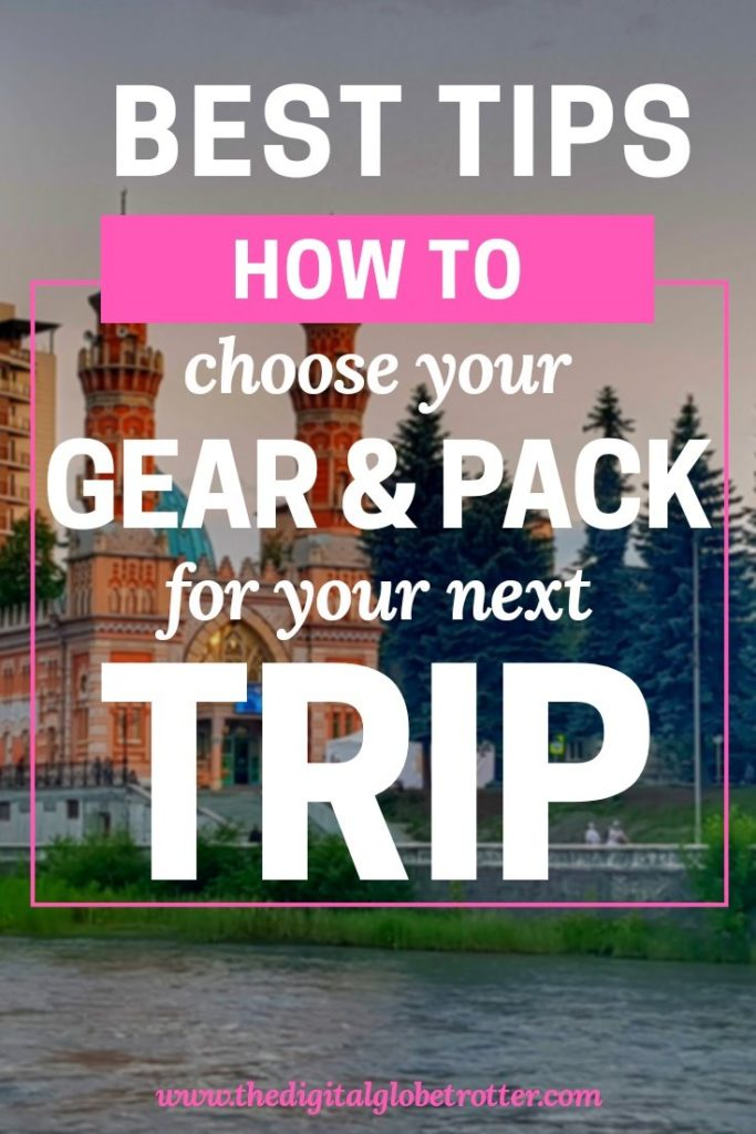 AMAZING - How to Pack Your Gear and What to Bring for your Trip - #travel #traveling #budgettravel #traveldestinations #travelblogger #travelblog #traveltips #travelplanning #backpacking #backpackers #globetrotter #cheapflights #worldtravel #gapyear #howtotravel #travelguide