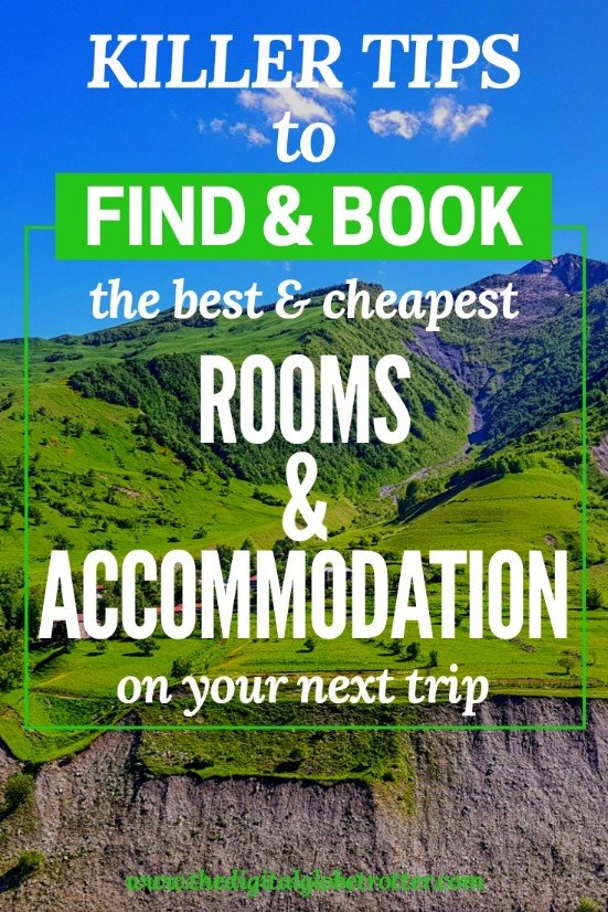 Awesome pin! How to Find and Book the Best & Cheapest Accommodation for your Travels - #travel #traveling #budgettravel #traveldestinations #travelblogger #travelblog #traveltips #travelplanning #backpacking #backpackers #globetrotter #cheapflights #worldtravel #gapyear #howtotravel #travelguide