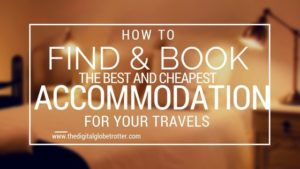 How to Find and Book the Best & Cheapest Accommodation for your Travels - #travel #traveling #budgettravel #traveldestinations #travelblogger #travelblog #traveltips #travelplanning #backpacking #backpackers #globetrotter #cheapflights #worldtravel #gapyear #howtotravel #travelguide