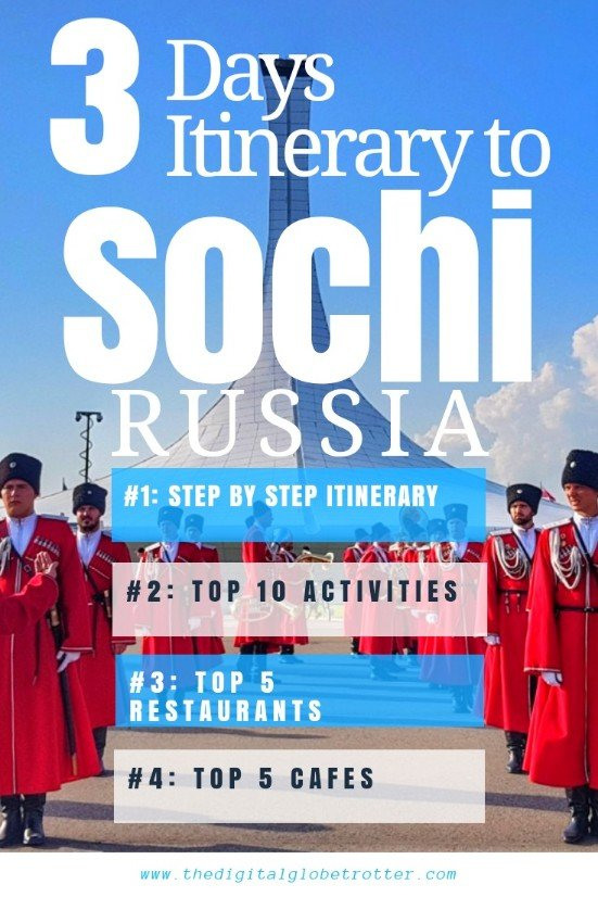 Super Sochi Guide - Sochi: The New Pearl of the Black Sea - 3 Days Itinerary - #visitsochi #sochitrips #travelsochi #sochitourism #sochiflights #sochihotels #sochihostels #sochiairbnb #sochitips #sochibeaches #sochimaps #sochiblog #sochiguide #sochitours #sochibooking #sochiinfo #sochitripadvisor #sochivisa #sochiitinerary #sochi #adler #sochiolympicpark #sochififaworldcup