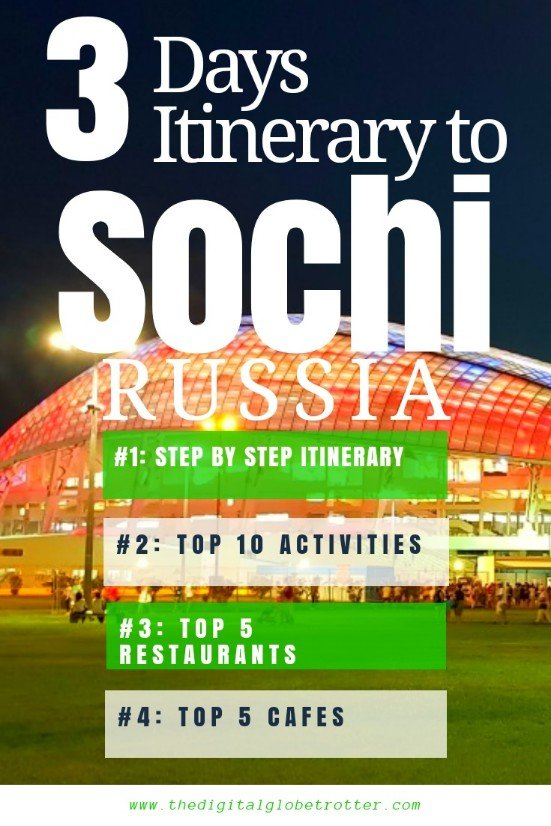 Sticky Pin - Sochi: The New Pearl of the Black Sea - 3 Days Itinerary - #visitsochi #sochitrips #travelsochi #sochitourism #sochiflights #sochihotels #sochihostels #sochiairbnb #sochitips #sochibeaches #sochimaps #sochiblog #sochiguide #sochitours #sochibooking #sochiinfo #sochitripadvisor #sochivisa #sochiitinerary #sochi #adler #sochiolympicpark #sochififaworldcup