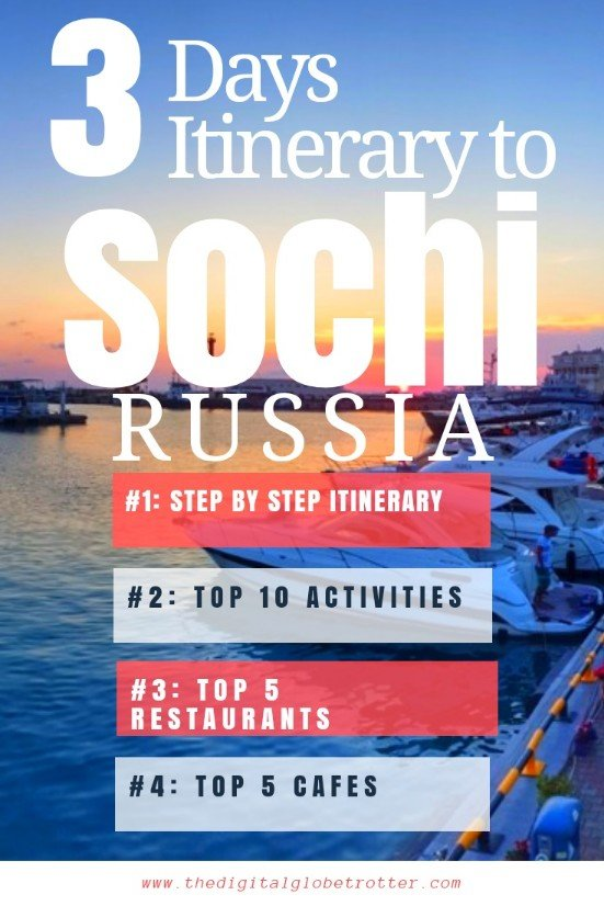 Amazing Guide - Sochi: The New Pearl of the Black Sea - 3 Days Itinerary - #visitsochi #sochitrips #travelsochi #sochitourism #sochiflights #sochihotels #sochihostels #sochiairbnb #sochitips #sochibeaches #sochimaps #sochiblog #sochiguide #sochitours #sochibooking #sochiinfo #sochitripadvisor #sochivisa #sochiitinerary #sochi #adler #sochiolympicpark #sochififaworldcup