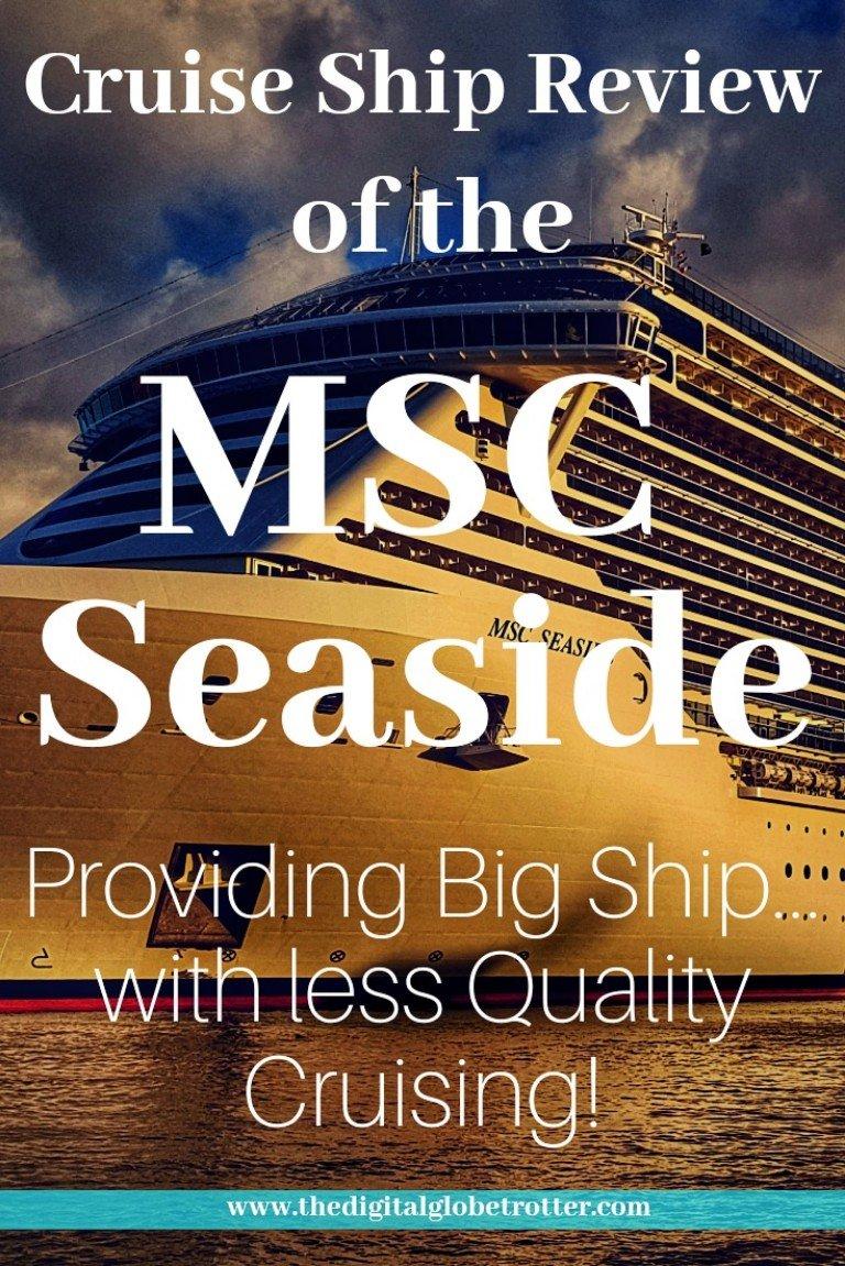 Great Cruise! MSC Seaside Cruise Review: Beautiful on the Surface, Same MSC Low Quality Underneath... - #MSCseaside #mscseaview #mscmeravigla #Cruising #cruiseships #MSC #royalcaribbean #ncl #cruises #holidays #vacations #norwegianstar #norwegian #choosefun #Carnival #hollandamerica #pullmantur # #cruisebooking #bookacruise