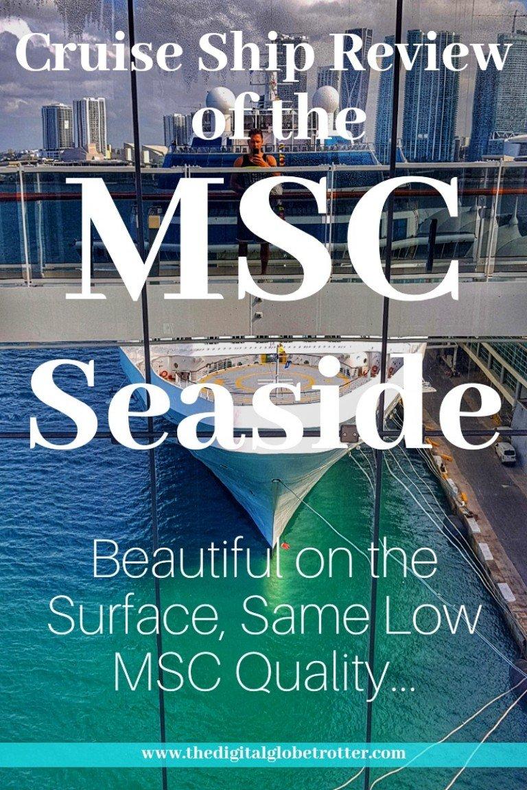 MSC Seaside Cruise Review: Beautiful on the Surface, Same MSC Low Quality Underneath... - #MSCseaside #mscseaview #mscmeravigla #Cruising #cruiseships #MSC #royalcaribbean #ncl #cruises #holidays #vacations #norwegianstar #norwegian #choosefun #Carnival #hollandamerica #pullmantur # #cruisebooking #bookacruise