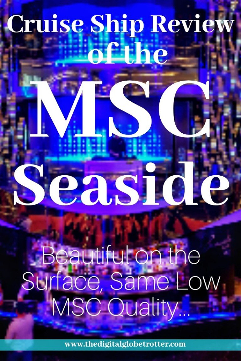 Aamazing! MSC Seaside Cruise Review: Beautiful on the Surface, Same MSC Low Quality Underneath... - #MSCseaside #mscseaview #mscmeravigla #Cruising #cruiseships #MSC #royalcaribbean #ncl #cruises #holidays #vacations #norwegianstar #norwegian #choosefun #Carnival #hollandamerica #pullmantur # #cruisebooking #bookacruise