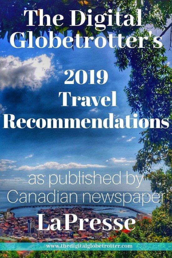 My 2019 Travel Recommendations for Canadian Newspaper LaPresse - #travel #traveltips #travelhacks #panamacity #georgia #tallinn #lapresse
