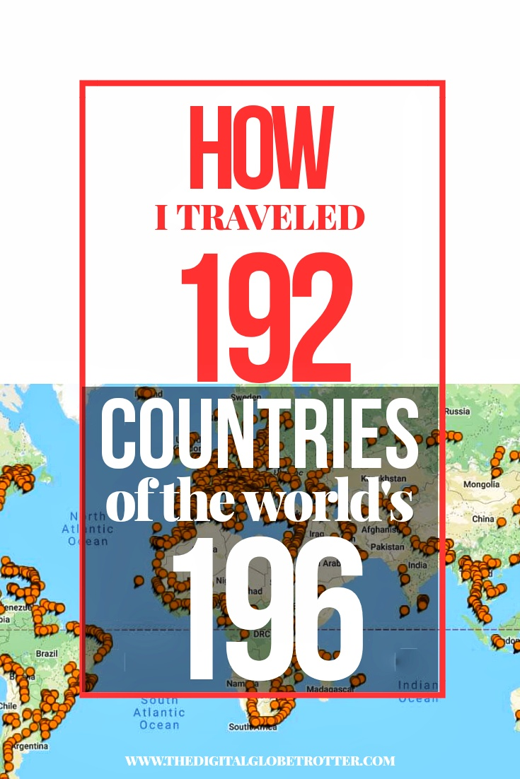 Amazing Post - Cities I've Been Map (193/196 Countries) – Update May 2019 - #budgettravel #traveldestinations #travel #traveling #nomads #howtotravel #travelguide #digitalnomad #travelblog #blogger #travelmore #wunderlust #dreams #traveleurope #travelasia #travelusa #travels #dreamtravels #globetrotter #countrycounters #allthecountries #whereivebeen