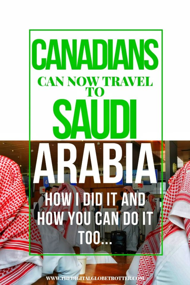 Great post - How to travel to Saudi Arabia as a Canadian - #saudi #saudiarabia #middleeast #sharekvisa #sharek #touristsaudi